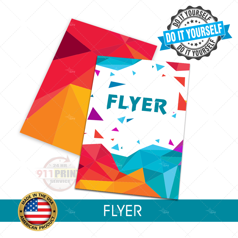 Flyers 911 prints 24hr rush printing flyers solutioingenieria Choice Image