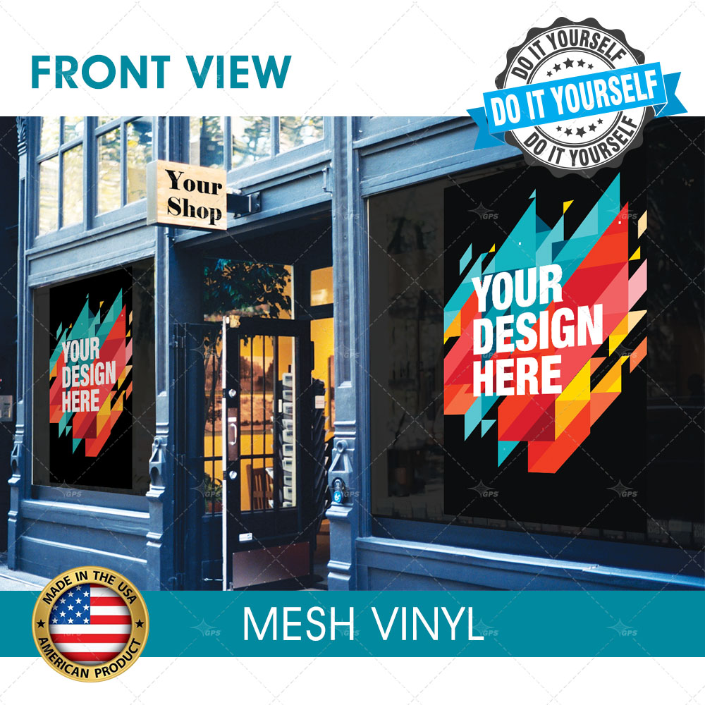 Mesh vinyls 911 prints 24hr rush printing shop solutioingenieria Image collections