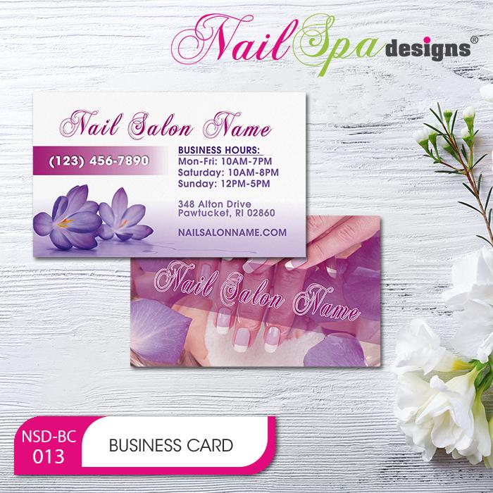 Nail Spa Business Card BC013