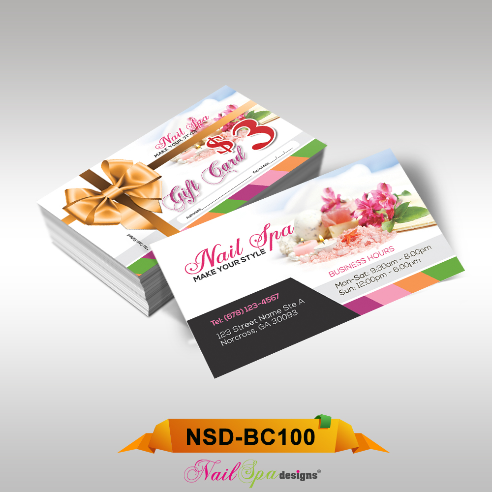 Nail File Business Cards Topsimages